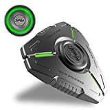 Teamgee Fidget Spinners, Metal Hand Spinner, Autism | Anxiety | ADHD Relief Fidget Toys for Kids & Adults, Luminous Night Effects, 8 Min Spin, Portable EDC Toy