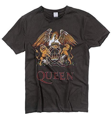 Amplified Shirt Queen Royal Crest, Grau, L