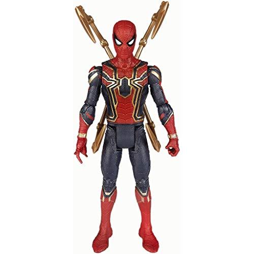 Marvel und DIY Handarbeit Spielzeug Avengers Spielzeug - Marvel Avengers: Unendlichkeit Ist Eisen-Spinne mit Unendlichkeit StoneActivated Lichteffekten for Kostüm und Role-Play Verkleidung Naturgetreu