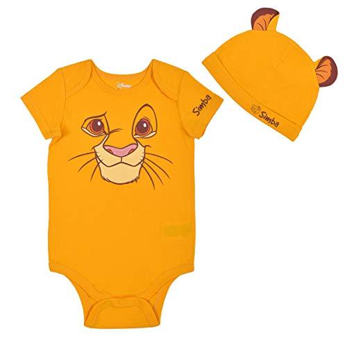 Disney Baby's Short Sleeve Creepe…