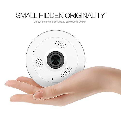 Eight Horses-S Detector de Humo inalámbrico/cámara Oculta WiFi/cámara espía HD 1080P / Mini grabadora de Video con detección de Movimiento para Seguridad en el hogar