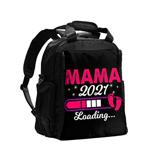 Mama 2021 Loading Expectant Mother Pregnancy Diaper Bag Backpack for Mom Dad, Maternity Nappy Bags, Multifunction Travel Back Pack, Changing Bags, Large Capacity Baby Diaper Bag Bookbag for Boys Girls