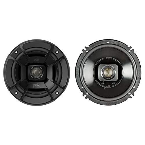 """Polk Audio 6.5"""" 300W 2 Way Car/Marine ATV Stereo Coaxial Speakers DB652 (Pair) (Renewed)"""