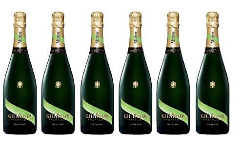 Lotto di 6 champagne Mumm Demi-Sec