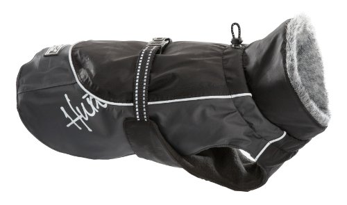 Hurtta Pro Wintermantel für Hunde, Schwarz