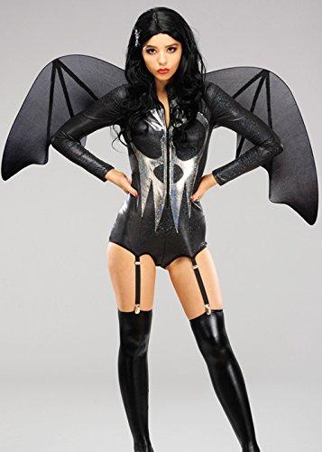 Rubie's Masquerade Noir Gothique Halloween Bat des Ailes