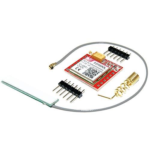 AZDelivery  SIM800L GSM GPRS Modul mit Antenne kompatibel mit Arduino inklusive Ebook