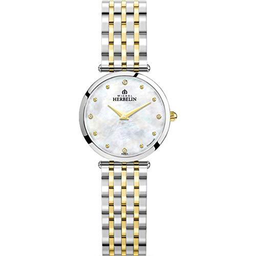 Michel Herbelin Damen Uhr 17116/BT89 Epsilon Edelstahl Quarz