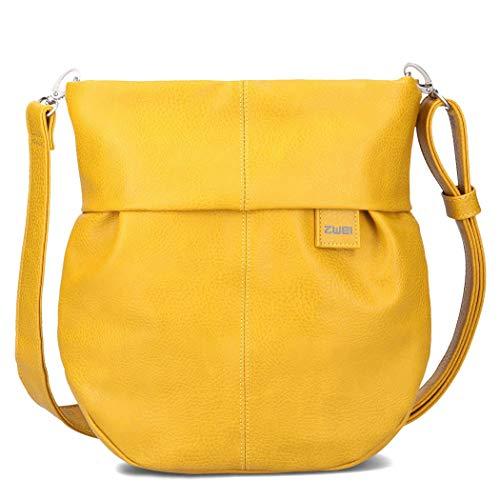 zwei Mademoiselle.M M100 Umhängetasche 29 cm Yellow