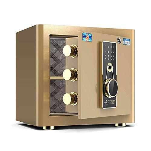 CHUXJ Cerradura de combinación electrónica Caja de Seguridad del Ministerio del Interior Caja de Seguridad - con Cerradura Digital Cerradura de la Huella - Dinero for la joyería Objetos de Valor