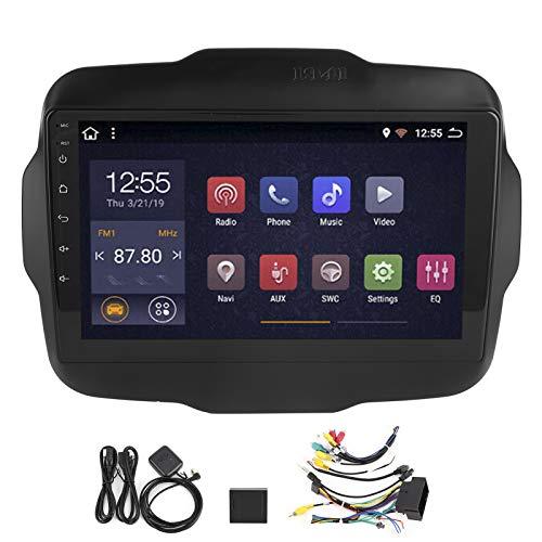 Navegador GPS, versión WiFi de 9 pulgadas, navegador de coche, reproductor de audio y video GPS para Android 10.0 apto para Renegade 2011-2013(WiFi 1 + 16G)