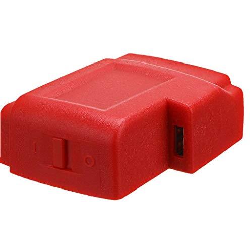 Cargador del adaptador 18V M18 USB para Milwaukee 49-24-2371 M18 adaptador cargador radios