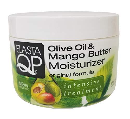 Elasta QP Olive Oil and Mango Butter - Moisturizer Creme, 8.25 oz (Bundle of 2)