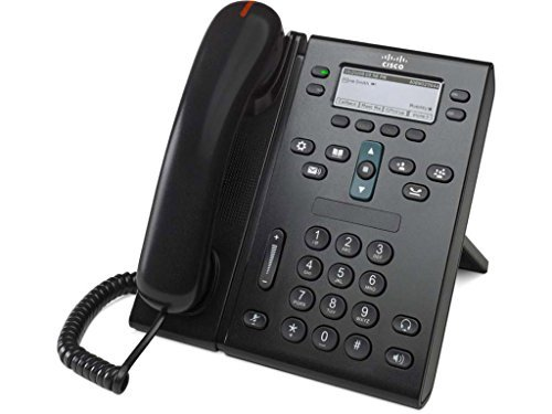 Cisco CP-6941-C-K9 - Teléfono VOIP (auricular estándar, G.711, G.711a, G.729a, SCCP, 0-40° C), blanco y negro