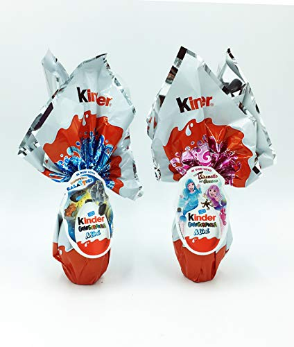 IDEA PASQUA 2021 Kinder GranSorpresa Mini Uovo Esploratori Galattici + Mini uovo di pasqua GRANSORPRESA KINDER Lovely Fairies 41 gr