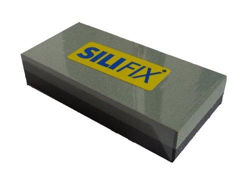 Zische Abziehstein SILIFIX kombiniert, Siliciumcarbid, 100 x 50 x 20 mm, FEPA Körnung 320/120, Schleifstein