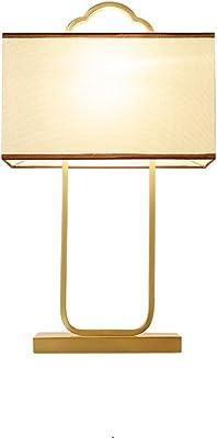 Estudio lámpara de mesa chino dormitorio lámpara de cabecera ...