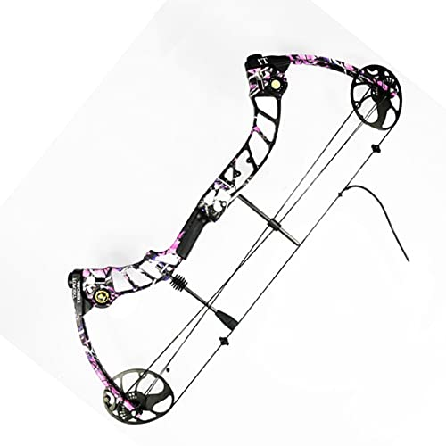NC93 Outdoor Hunting Compound Bow Apex T1 Compound Bow and Arrow Set Competition Pulley Competitive Bow IBO 320 Frames/Sec (Bare Bow 3)
