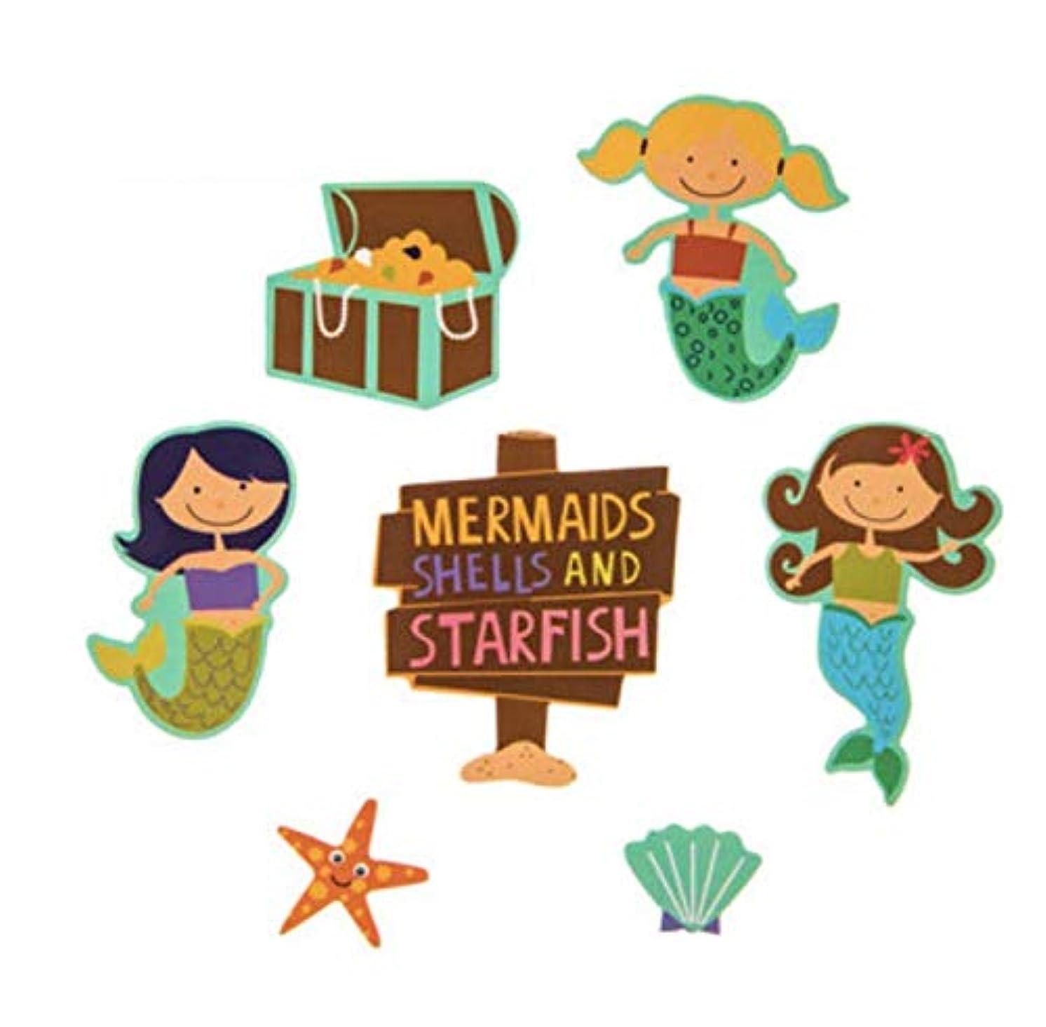 231 Piece Mermaid Foam Stickers