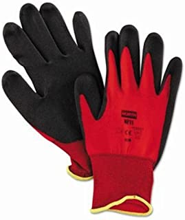 North Safety Products Northflex Red Nylon/foamPVC Glove 8m 15 Gauge (068-NF118M) Category: Coated Gloves