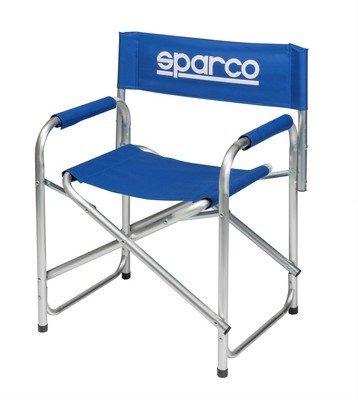 Stuhl Paddock Sparco blau