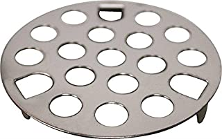 """Rocky Mountain Goods Shower and Tub Drain Strainer - 1 5/8"""" - Helps keep drains from being clogged - Simply drop in and snap in installation - Keeps hair from going down drain - Stainless steel"""