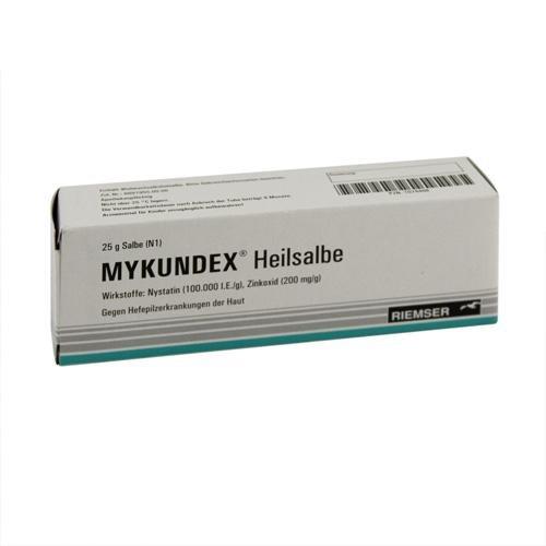 MYKUNDEX HEILSALBE 25g Salbe PZN:1074408