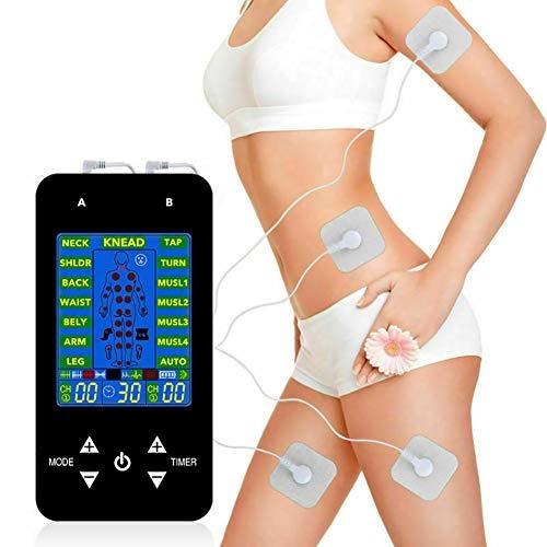 Tens Ems Electroestimulador, Electrodos Para Tens, Electroestimulador Digital Muscular, Mini Masajeador Y...