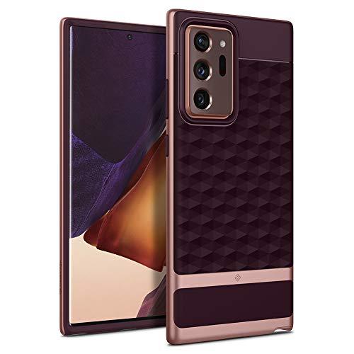 Caseology Parallax Samsung Galaxy Note 20 Ultra Back Cover Case Designed for Galaxy Note 20 Ultra - Burgundy