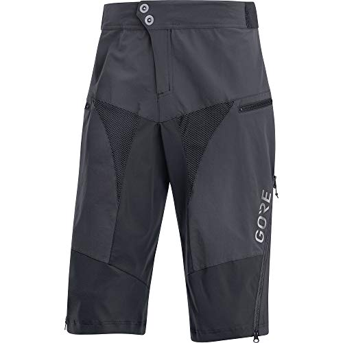 GORE Wear C5 Men's Cycling Shorts, S, Gray