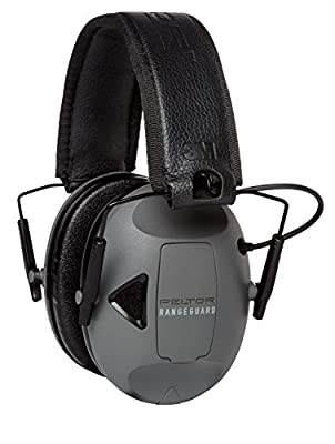 Peltor Sport RangeGuard Electronic Hearing Protector, Ear Muffs, Model:RG-OTH-4