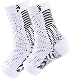 Sock Perfect Premium Compression Sleeves for Men or Women - Recommended Plantar Fasciitis Socks for Pain Relief, Heel Pai...