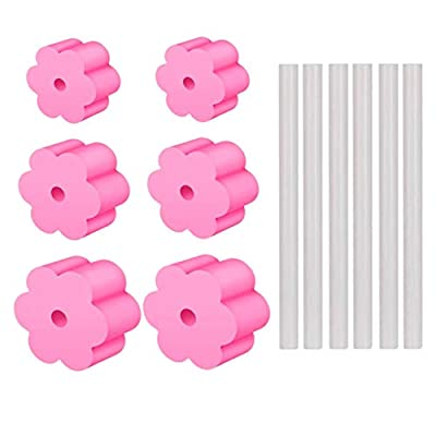 6PCS Cup Turner Foam with Cup Turner Wand 1/2&#...