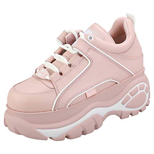 Buffalo London Damen 1339-14 2.0 Sneaker, Baby PINK, 40 EU