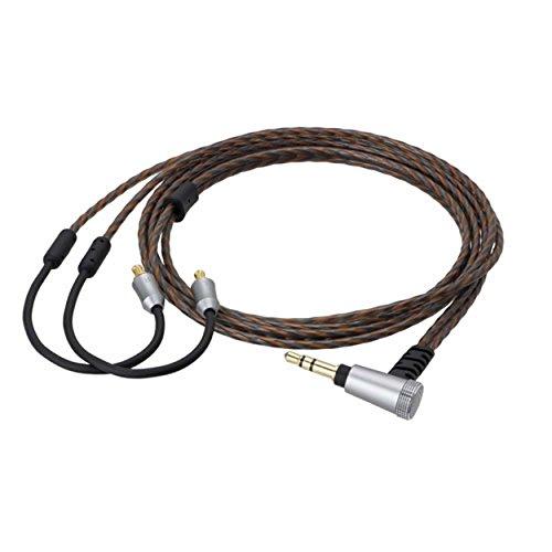 Audio-Technica Cabo de fone de ouvido HDC313A/1.2 3,5 mm destacável para fones de ouvido Live Sound Series