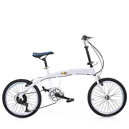 CEALEONE Faltrad, Groß für Stadt REIT- und Pendel, Mit Low Step-Through Stahlrahmen, Single-Speed-Antrieb, Front- und Heckkotflügel