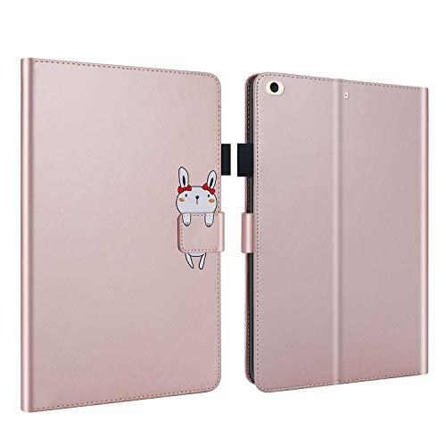 Jajacase Cover Compatibile con Apple iPad Mini 1/2 / 3/4 / 5 (7.9 Pollici)- Libro Case Custodia Protettiva con PU in Pelle, Supporto e Multi-View - Rosa