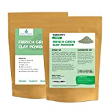 French Green Clay European Montmorillonite Ultra Soft Clay Powder , Vegan Cosmetic Grade, Healing Clay for Face Mask Skin Care Detox, Clay Mask for Blackheads and Pores, 4 ounce - Cosmic Element