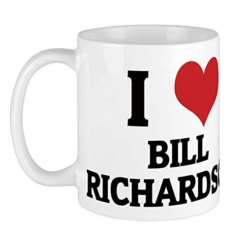 CafePress - I Love Bill Richardson Mug - Unique Coffee Mug, Coffee Cup, Tea Cup