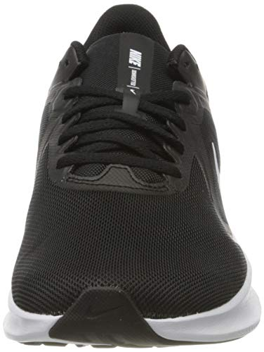 NIKE Downshifter 10, Zapatillas Hombre, Black White Anthracite, 44 EU