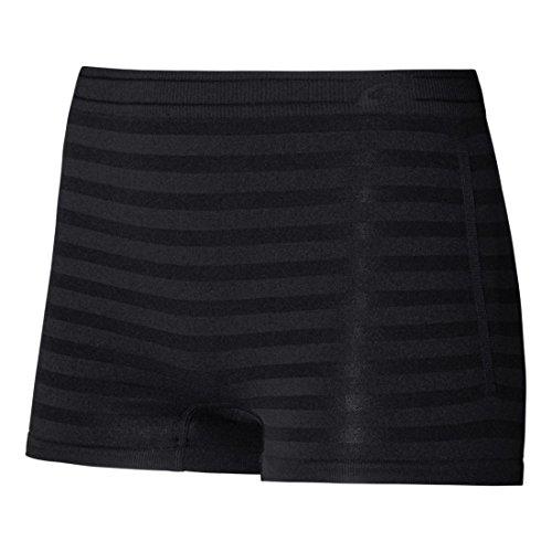 ASICS Women's ASX Boy Briefs, Large/X-Large, Black