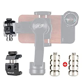 Universal 100g Gimbal Counterweight for Balancing Moment Lens/Phone Case Cover for Zhiyun Smooth 4 DJI Osmo Mobile 2… 1 ►Material: CNC made counterweights,anti-rust and durable to use. ►Easy on Easy off: 15mm-25mm universal mount can let you freely add flash, mic or other accessories but still balancing ►Useage: Enables you to add Phone Case or Mobile lens setup on smartphone when use with gimbal.