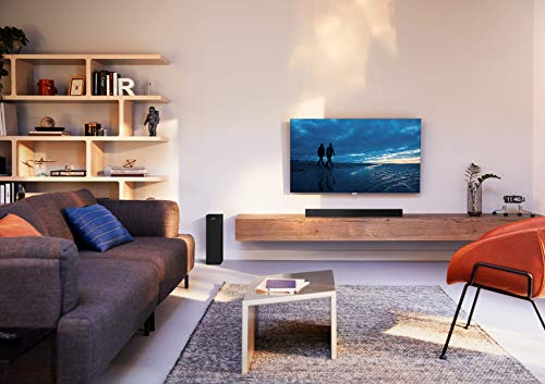 Philips Audio Philips Bluetooth Soundbar HTL3310/10 TV Soundbar (Bluetooth, Kabelloser Subwoofer, 160 W) Schwarz