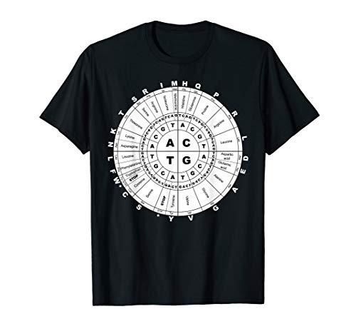 Codon Wheel Aminosäuren Kreis DNA Wissenschaftler Professor T-Shirt
