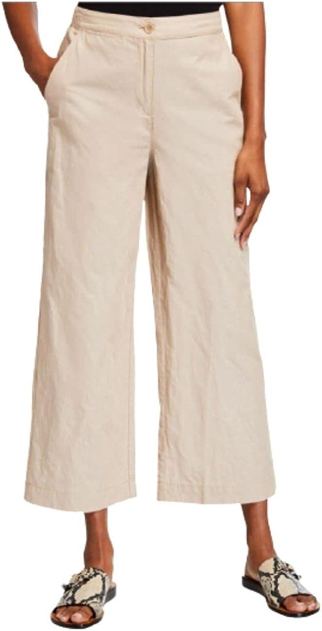 Eileen Fisher Wide-Leg Ankle Pants Bramble Size 14