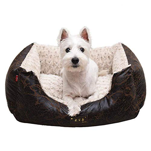 SUTOUKUI ?Perro Mascota en otoño e Invierno Cojín Lavable para caseta de Perro-A 98x76 cm (39x30 Pulgadas)