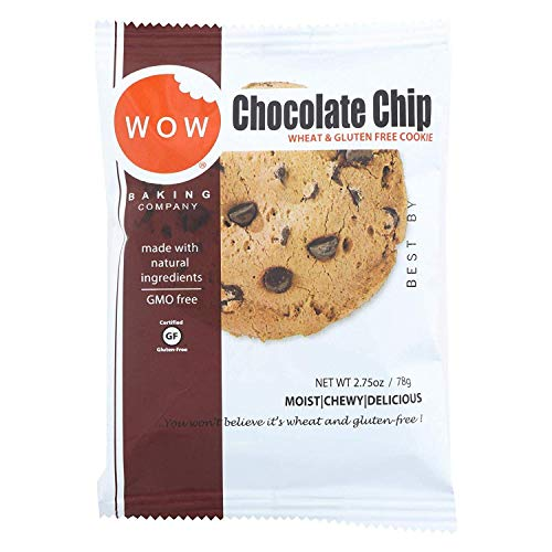 Wow Baking Cookie Gluten Free Chocolate Chip Ind 2.75 Oz (Pack Of 12)