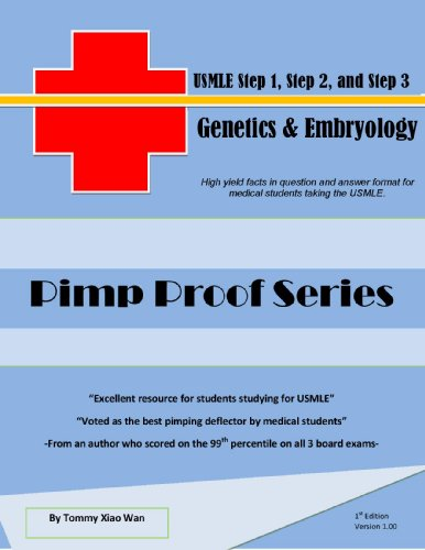 Pimp Proof Series – Genetics and Embryology For USMLE Step 1, Step 2, and Step 3