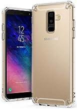 جراب خلفي ممتص للصدمات لهاتف Samsung Galaxy A6 Plus (2018) من رينغكي - شفاف