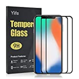 Ylife Panzerglas Schutzfolie Kompatibel iPhone 11 Pro/iPhone X/XS,3D Full Coverage 9H Härte...